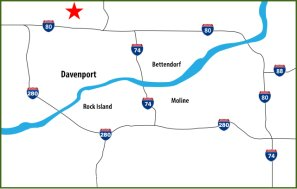 Davenport-Map