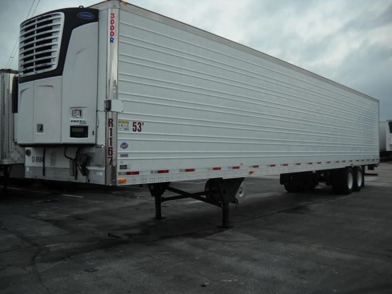 2012 UTILITY REEFER TRAILER W/(460V) ELECTRIC STAND-BY SPEC 4062441571