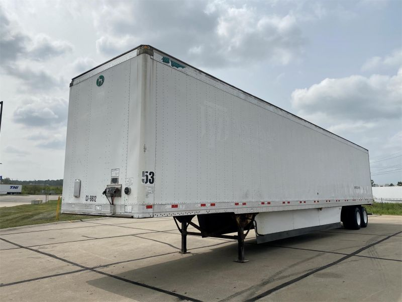 2007 GREAT DANE 53' DRY VAN  TRAILER 6131120623