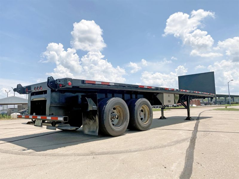2011 GREAT DANE FLATBED TRAILER 6087456367