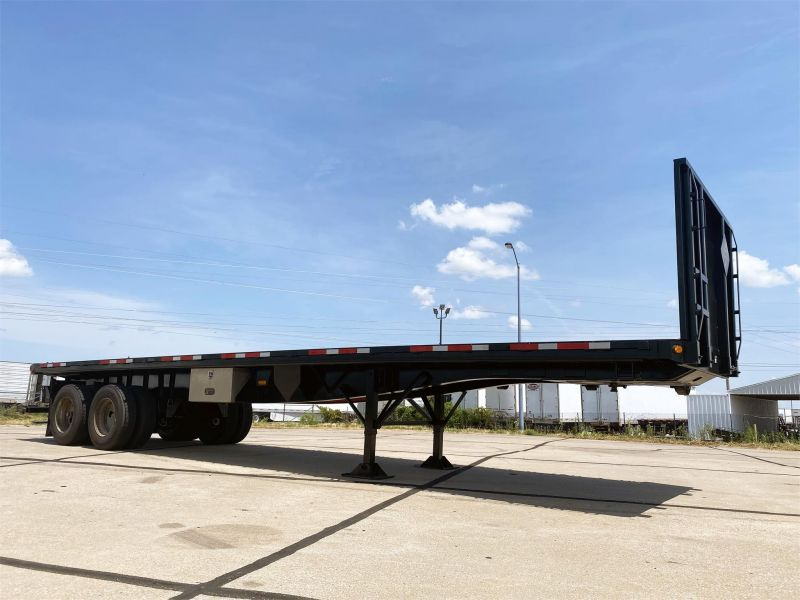 2011 GREAT DANE FLATBED TRAILER 6087457943