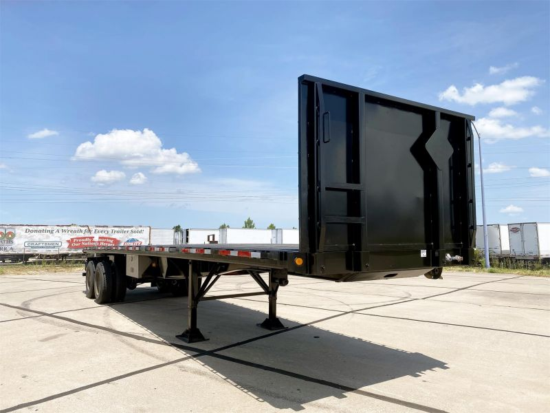 2011 GREAT DANE FLATBED TRAILER 6087458665