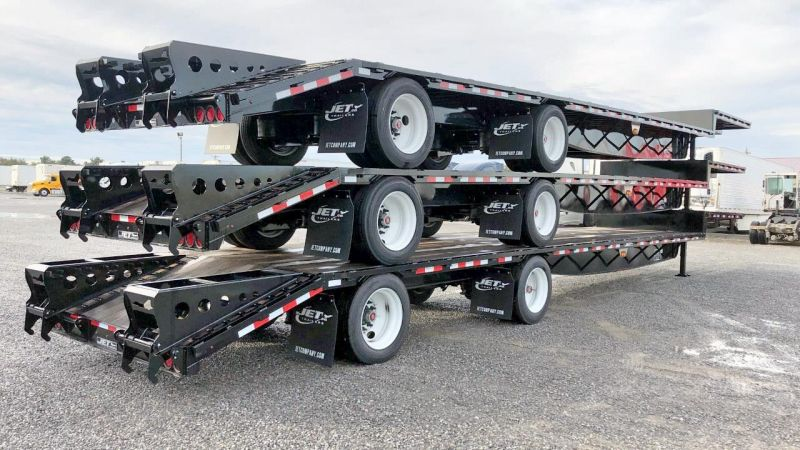 "2020 JET 53' X 102"" DROP DECK TRAILER W/BEAVER TAIL 6212480783"