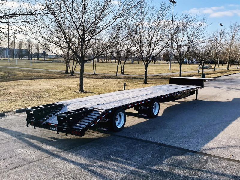 "2020 JET 53' X 102"" DROP DECK TRAILER W/BEAVER TAIL 6217005333"