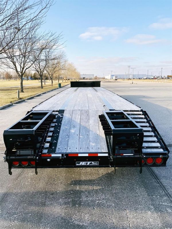 "2020 JET 53' X 102"" DROP DECK TRAILER W/BEAVER TAIL 6217005559"