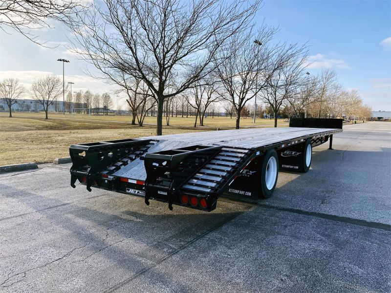 "2020 JET 53' X 102"" DROP DECK TRAILER W/BEAVER TAIL 6217005619"
