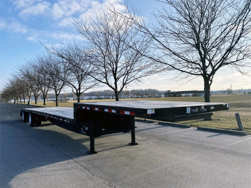 "2020 JET 53' X 102"" DROP DECK TRAILER W/BEAVER TAIL 6217005749"