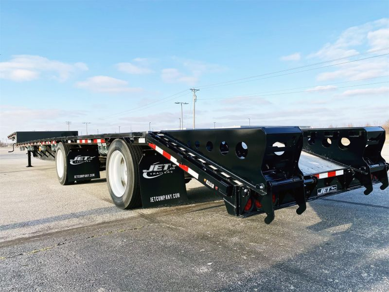 "2020 JET 53' X 102"" DROP DECK TRAILER W/BEAVER TAIL 6217005985"