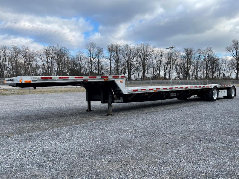 2005 TRANSCRAFT 48'  TRANSCRAFT FLATBED TRAILER 6235519249